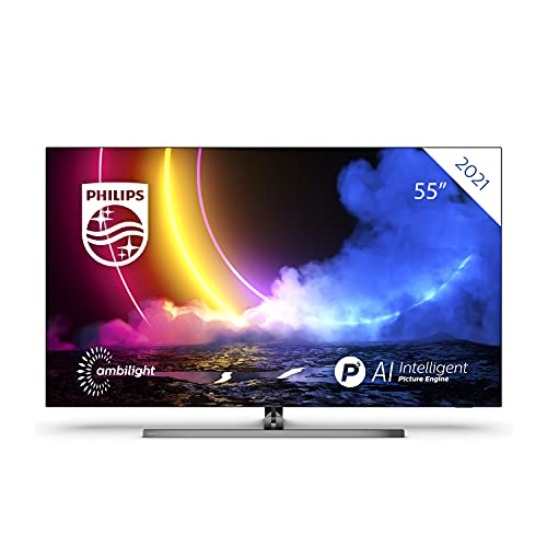 Philips 55OLED856 55 Zoll 4K UHD OLED Android TV,...