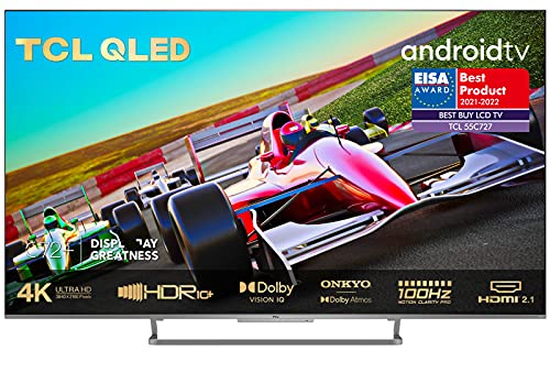 TCL 55C727 4K QLED Gaming Fernseher 55 Zoll Smart...