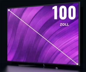 100 Zoll Fernseher