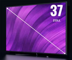 37 Zoll