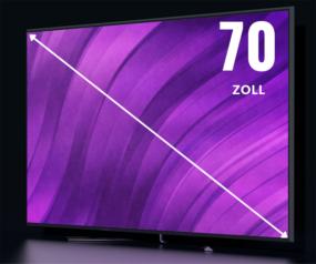 70 Zoll