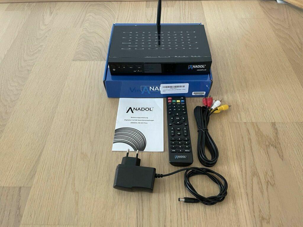 Anadol HD 222 lieferumfang