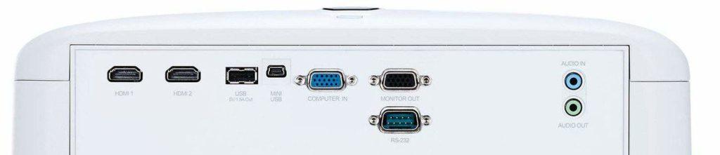 Anschlüsse ViewSonic PX700HD e1542110125725