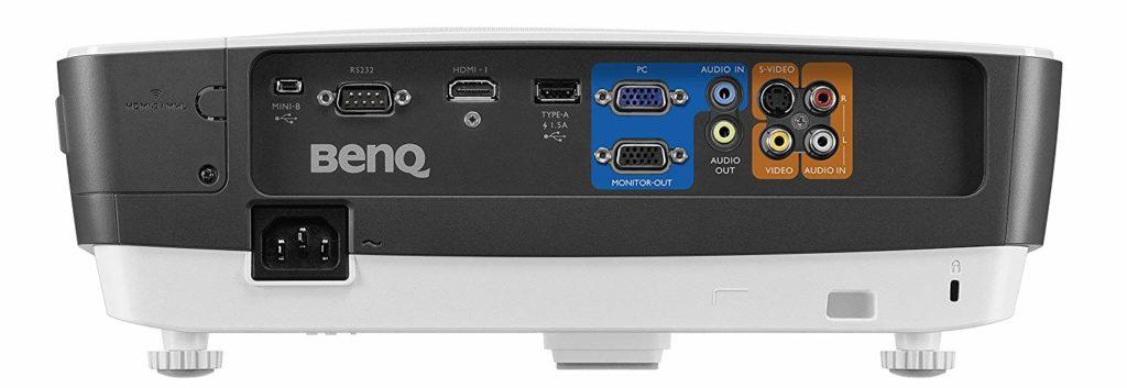 BenQ MW705 ansxhlüsse 1024x353 1
