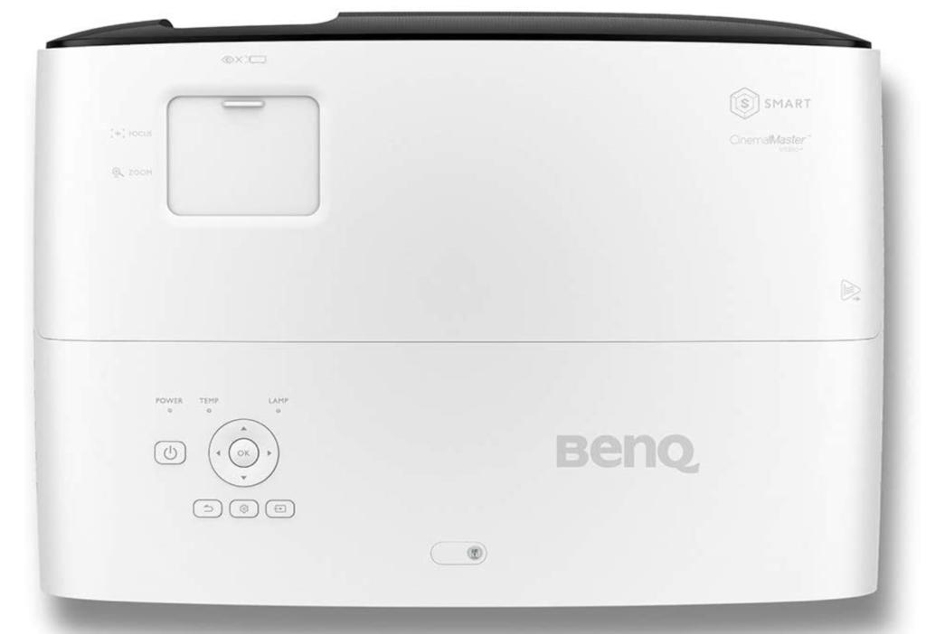 BenQ TK810 oberseite