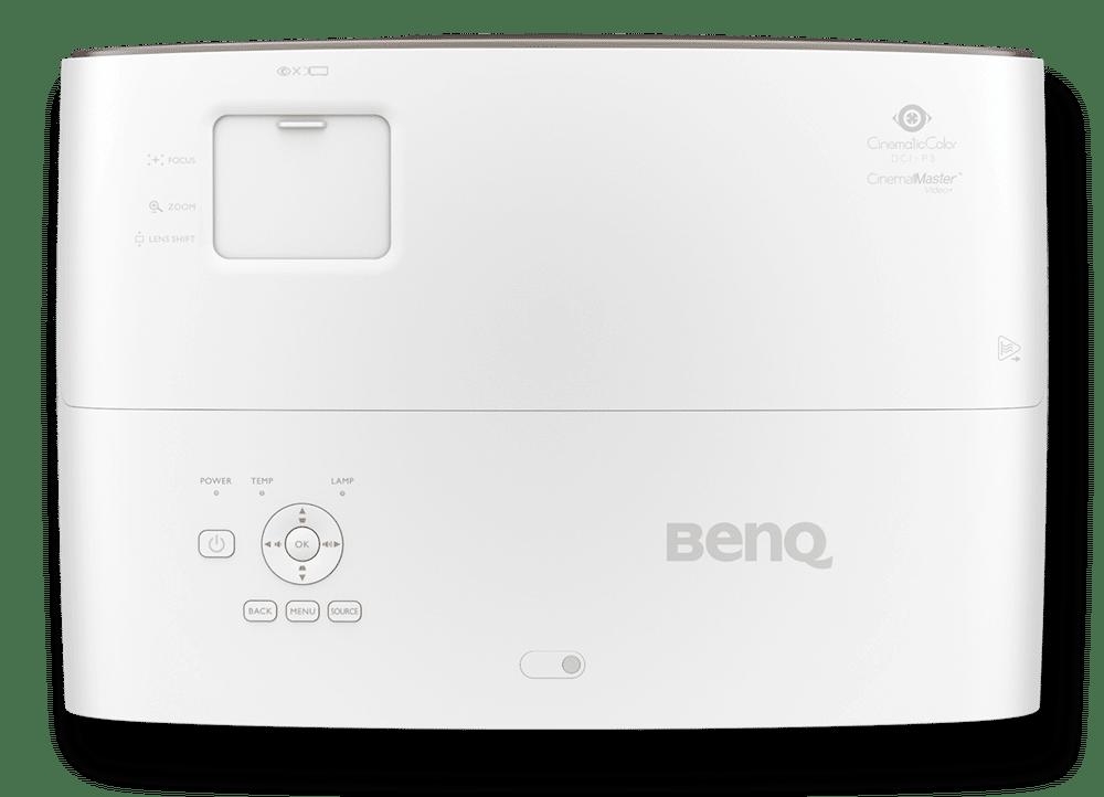 BenQ W2700 Heimkino DLP Projektor von oben e1567492151684
