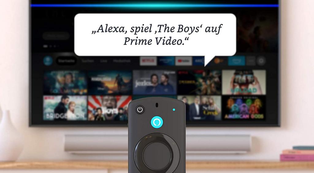 Fire TV Stick der 3. Generation Alexa