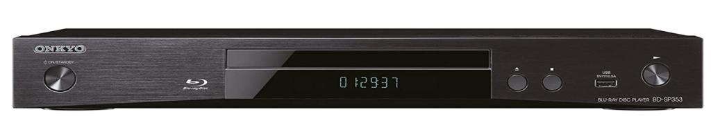 Onkyo BD SP353 test