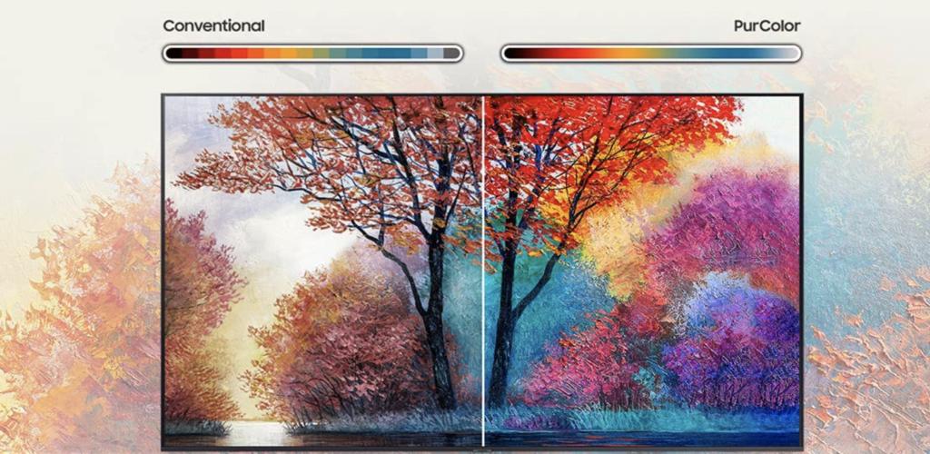 Samsung Crystal UHD 4K TV Bild