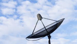 Satellitenschüsselgrösse