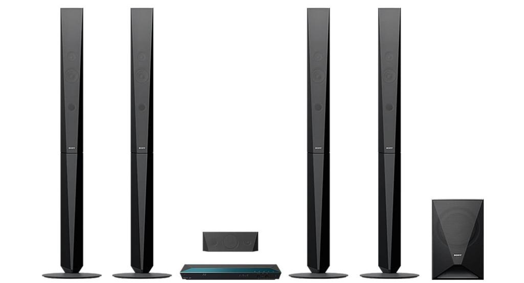 Sony BDV E6100 Test